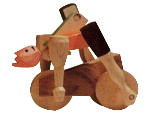 handcrafted_designer_wooden_toys_2404_cyclist_handcrafted_wood_gifts ...