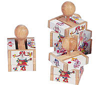 handmade_wooden_puzzles_kids_crafts_traditional_clown_cube_puzzle_4198