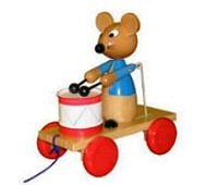 quality_wooden_toys_wholesale_wood_working_2052_pull_along_drumming_mouse